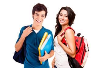Studenten Sprachkurs Willkommen